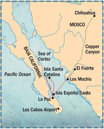 Image result for sea of cortez map