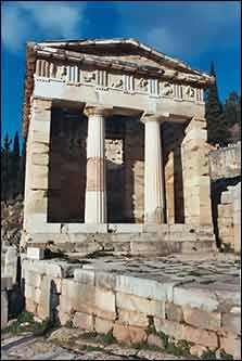 The Treasury at Delphi
