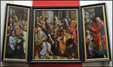 Triptych at Cathedral of Our Lady, Antwerp, Belgium