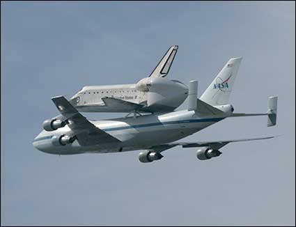 Space Shuttle 2012